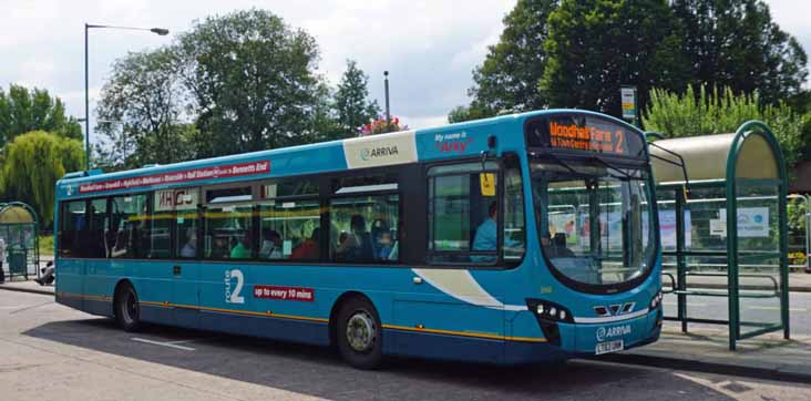 Arriva Shires Volvo B7RLE Wright 3968