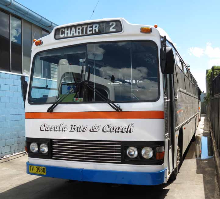 Ex Brisbane Bus Lines Casula Leyland Worldmaster Custom TV3980