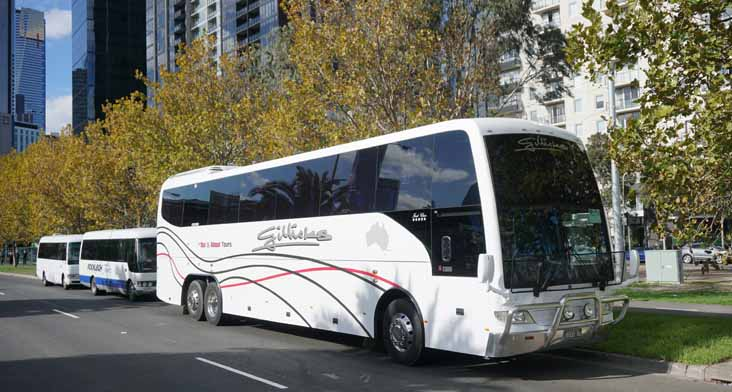 Gillicks Scania K124IB Coach Design 17