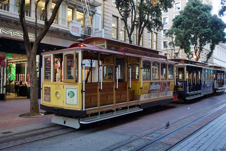 MUNI cable car 15