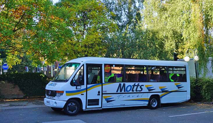 Motts Travel Mercedes O814D Plaxton Cheetah VU06KHL