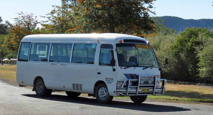 Ogdens Coaches Toyota Coaster 32