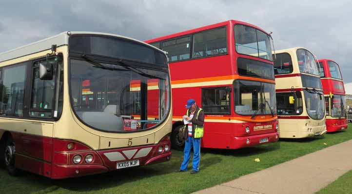 Showbus 2014 First Heritage liveries