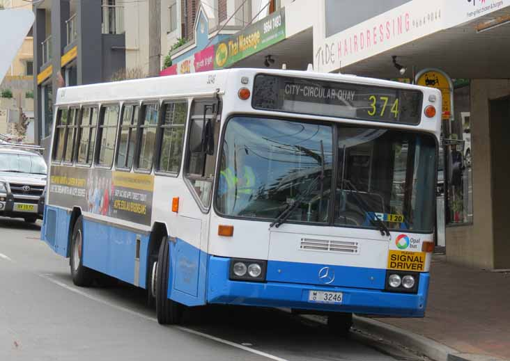 Sydney Buses Mercedes O405 PMC 3246