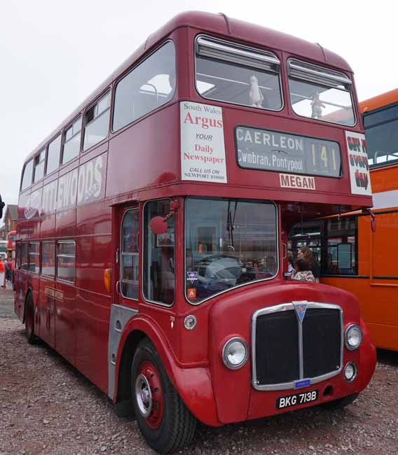Western Welsh AEC Renown Northern Counties 713