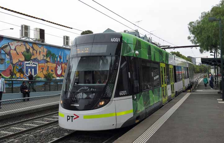 Yarra Trams Bombardier Flexity Swift Class E 6001