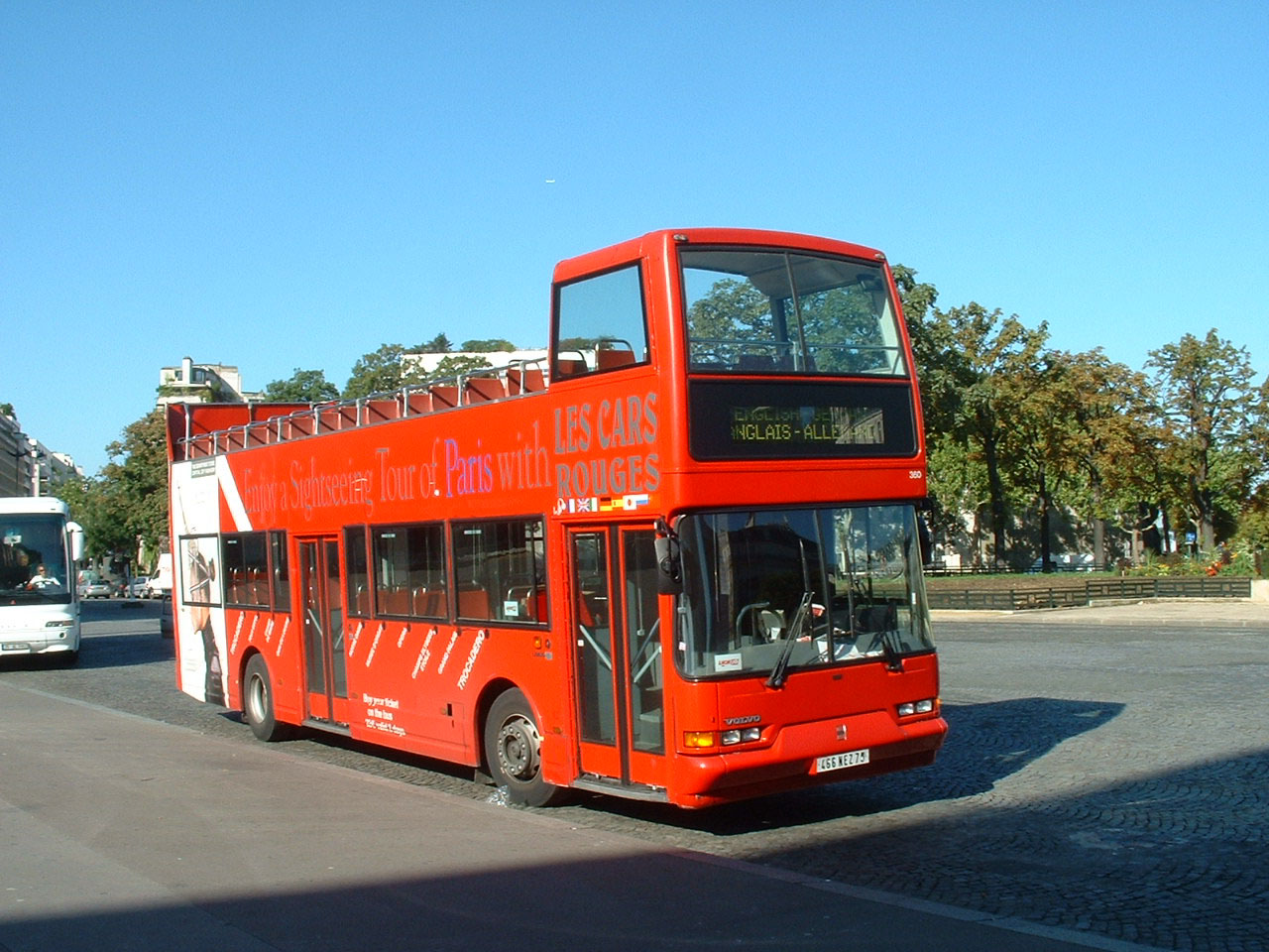 Les Cars Rouges Volvo Citybus B10M East Lancs 466NEZ75