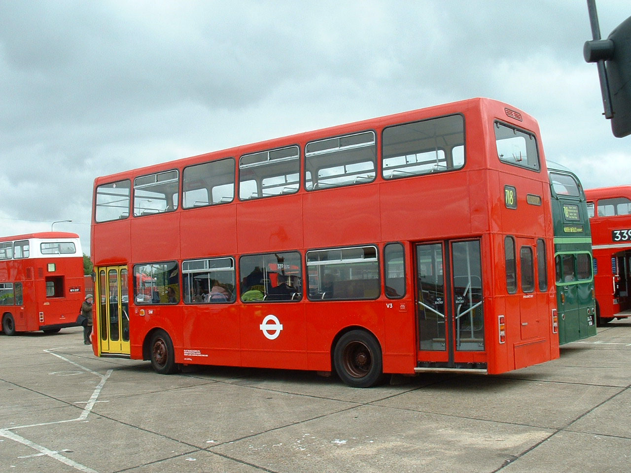 London Buses Volvo Ailsa V3