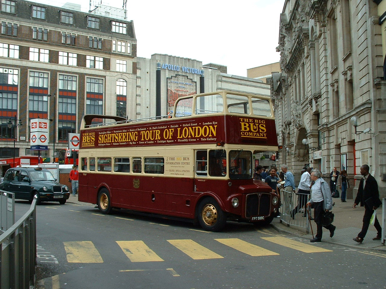Big Bus Routemaster FPT588C