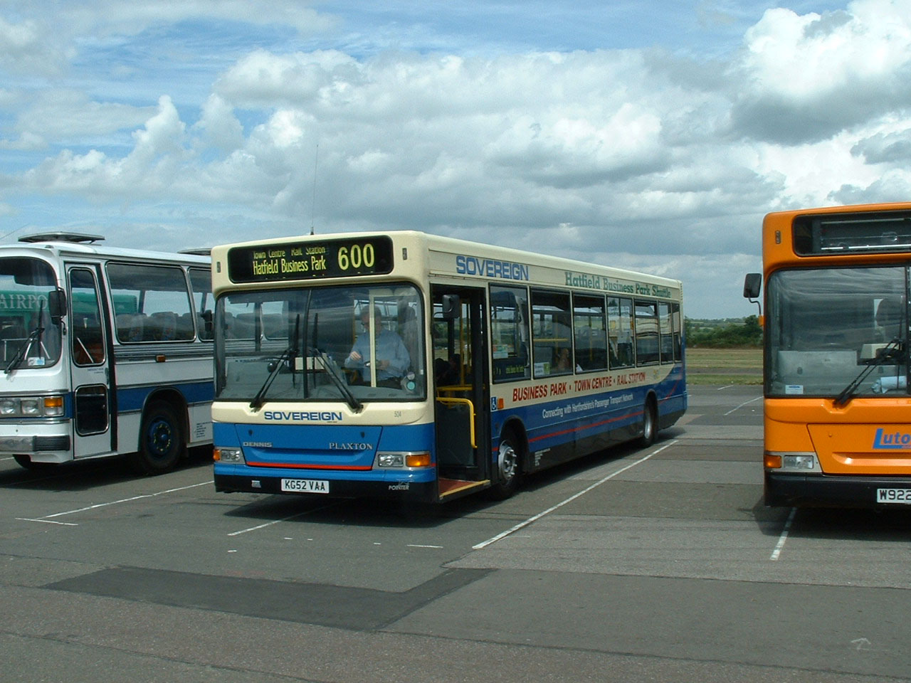 Sovereign Dennis Dart SLF Plaxton Pointer 2