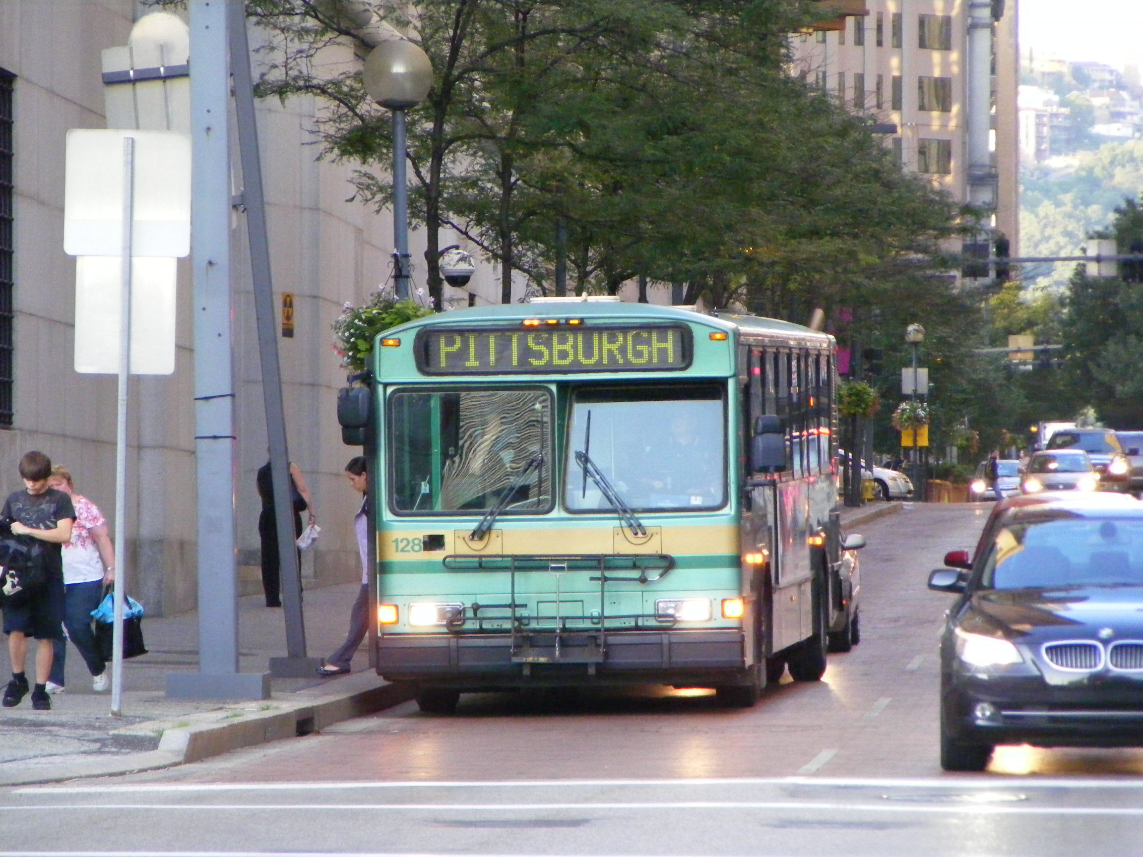 New Castle Area Transit Authority Gillig Phantom