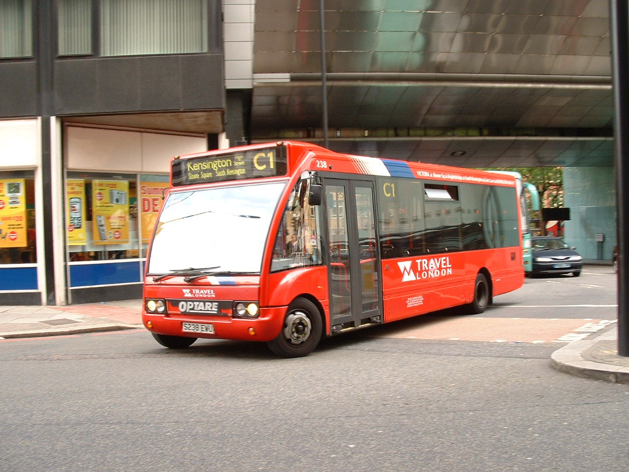 Travel London Optare Solo