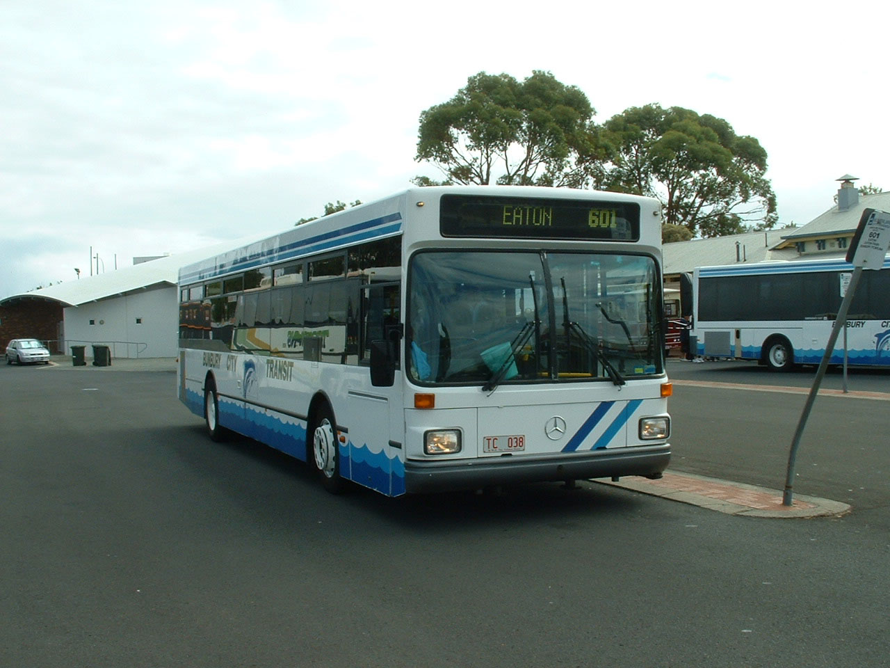 Bunbury City Transit Mercedes