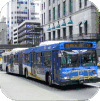 Coast Mountain articulated buses
