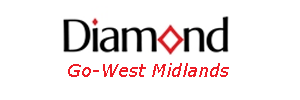 Go West Midlands Diamond Bus