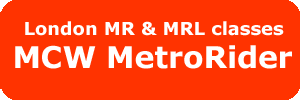 London MR & MRL classes - MCW Metrorider