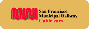 San Francisco Municipal Railway Cable cars in historic liveries