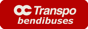 OC Transpo Articulated buses