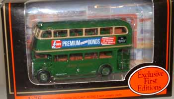 16402 AEC RT Roofbox BUS LONDON TRANSPORT