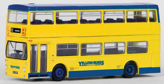 25809 Daimler DMS single door BOURNEMOUTH YELLOW BUSES.