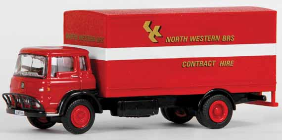 22912 Bedford TK Box Van NORTH WESTERN B.R.S.