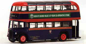 16135 Leyland PD2 Highbridge Double Deck Bus Accrington Corporation Transport
