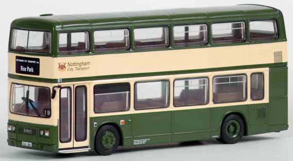 29204 Leyland Titan single door NOTTINGHAM CITY TRANSPORT