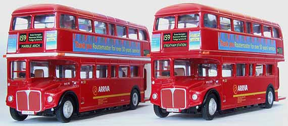 Arriva Last Day Routemasters.