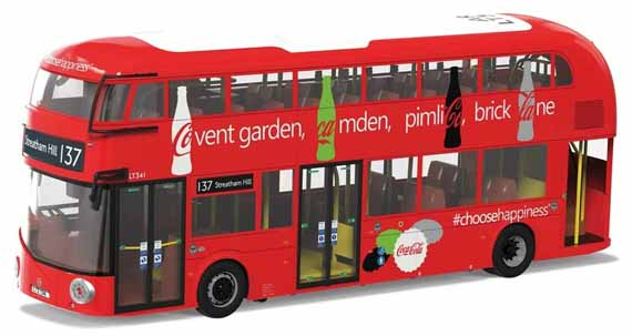 Arriva London Wrightbus New Routemaster Coca-Cola