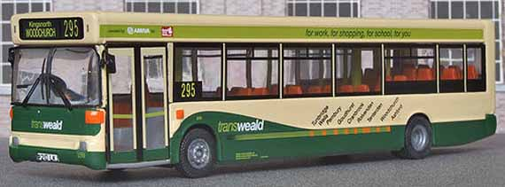 Arriva Kent & Sussex Transweald Dennis Dart SLF Plaxton Pointer 2