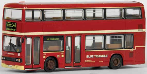 28819 Leyland Titan dual door BLUE TRIANGLE.
