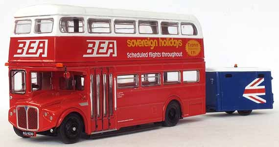 BEA AEC Routemaster with trailer