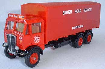 BRS AEC Mammoth Major 3 Axle Box Van.