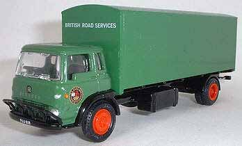 Bedford TK Twin Axle Long Rigid Box Van