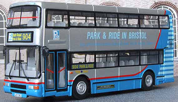 Bristol Park & Ride Volvo Olympian Northern Counties