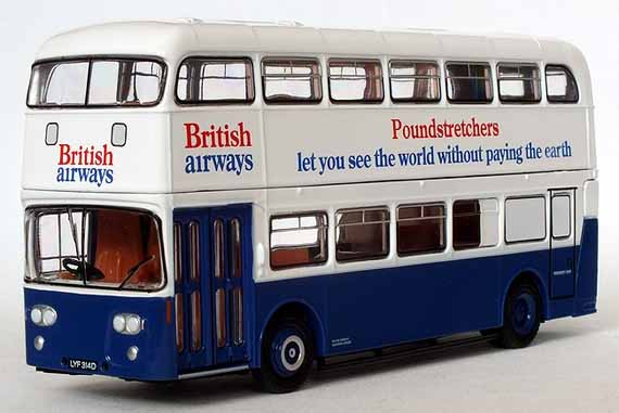 British Airways Leyland Atlantean Roe