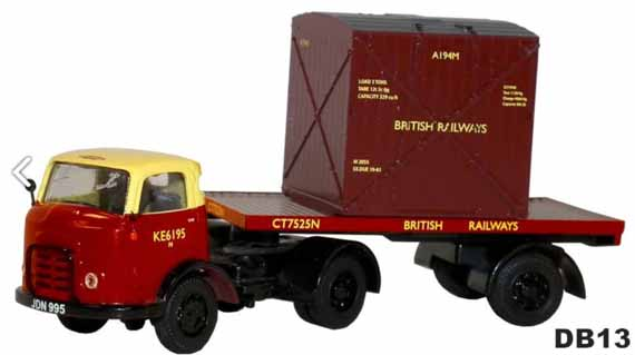 British Railways Karrier Bantam Artic Flatbed
