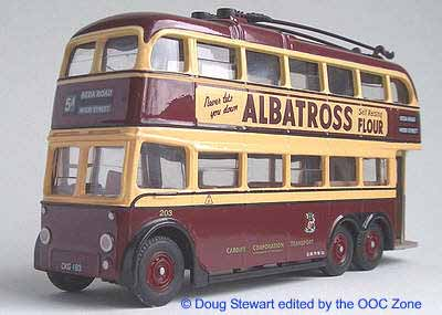 Cardiff Corporation AEC 6641T Trolleybus
