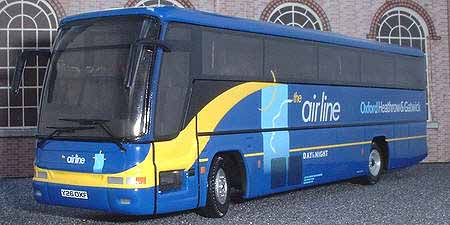 City of Oxford Airline Volvo Plaxton Excalibur.