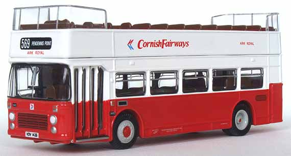Cornish Fairways Bristol VRT opentop