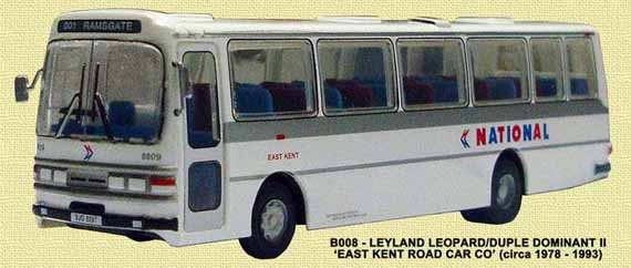 East Kent Leyland Leopard Duple Dominant National Express