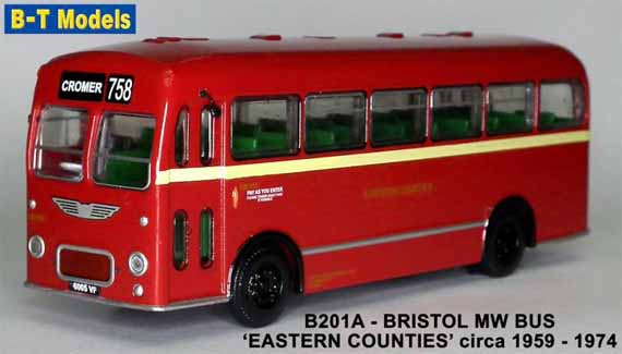 Eastern Counties Bristol MW