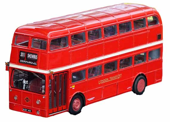 AEC Routemaster FRM1 SHOWBUS 2011 destination, plain sides