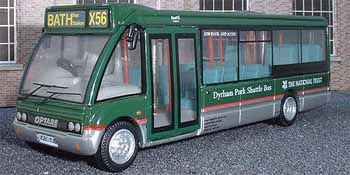 First Badgerline National Trust Optare Solo