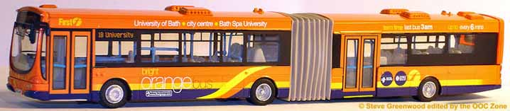 First Bath Volvo Wright orange bendibus