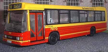 First PMT Optare Delta.