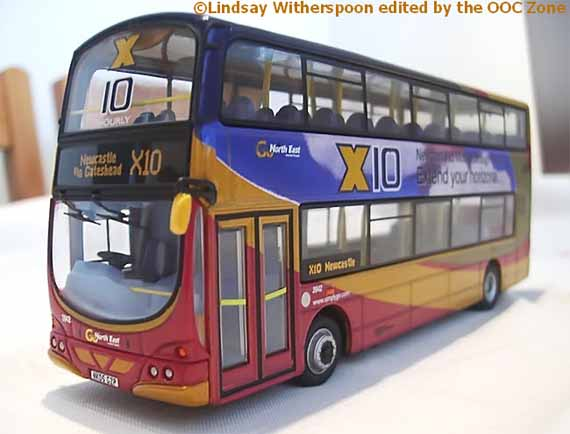 Go North-East Volvo B7TL Wright Eclipse Gemini.
