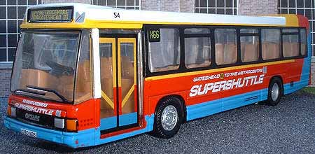 Go-Gateshead Optare Delta Supershuttle.