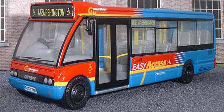 Go-Wear Buses Optare Solo.