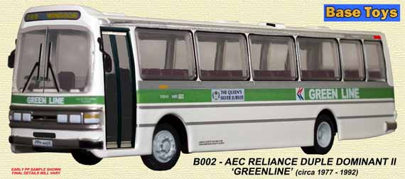Green Line AEC Reliance Duple Dominant II